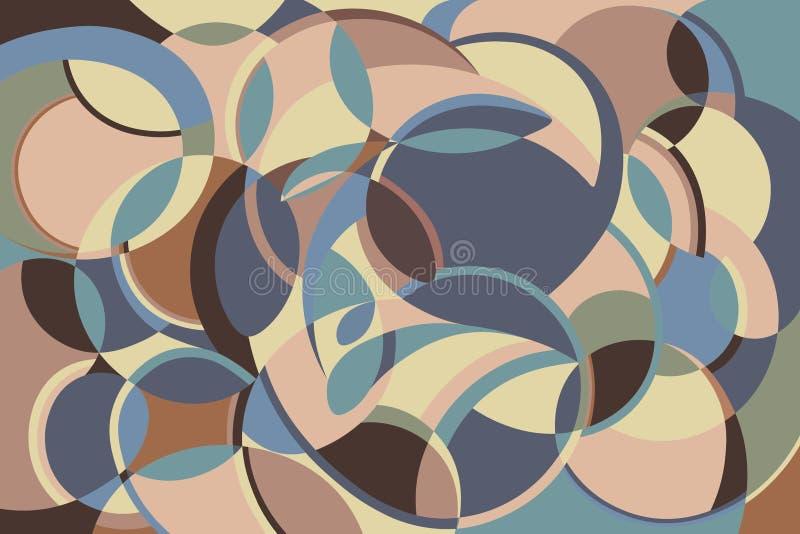 abstrakta bezszwowy wzoru Tekstura dla projekta ilustracja wektor