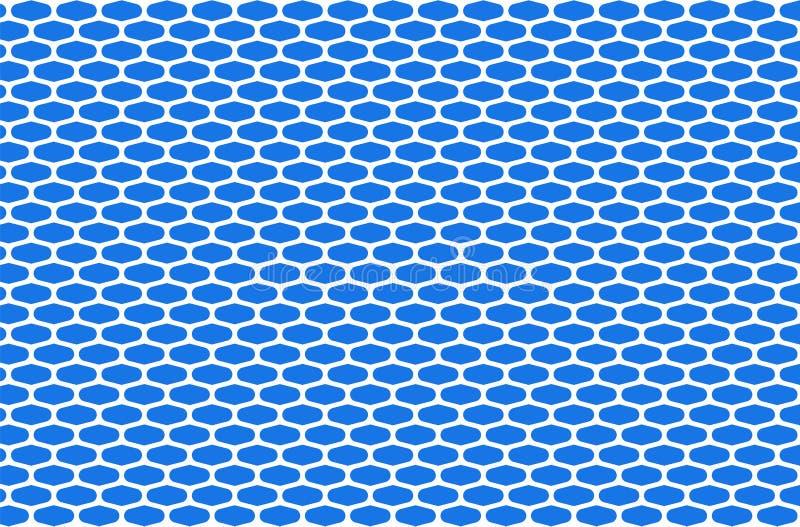 Abstrakta bielu deseniowa sieć na tle, projekt brei i dekoraci dla tła błękitnych, ilustracji