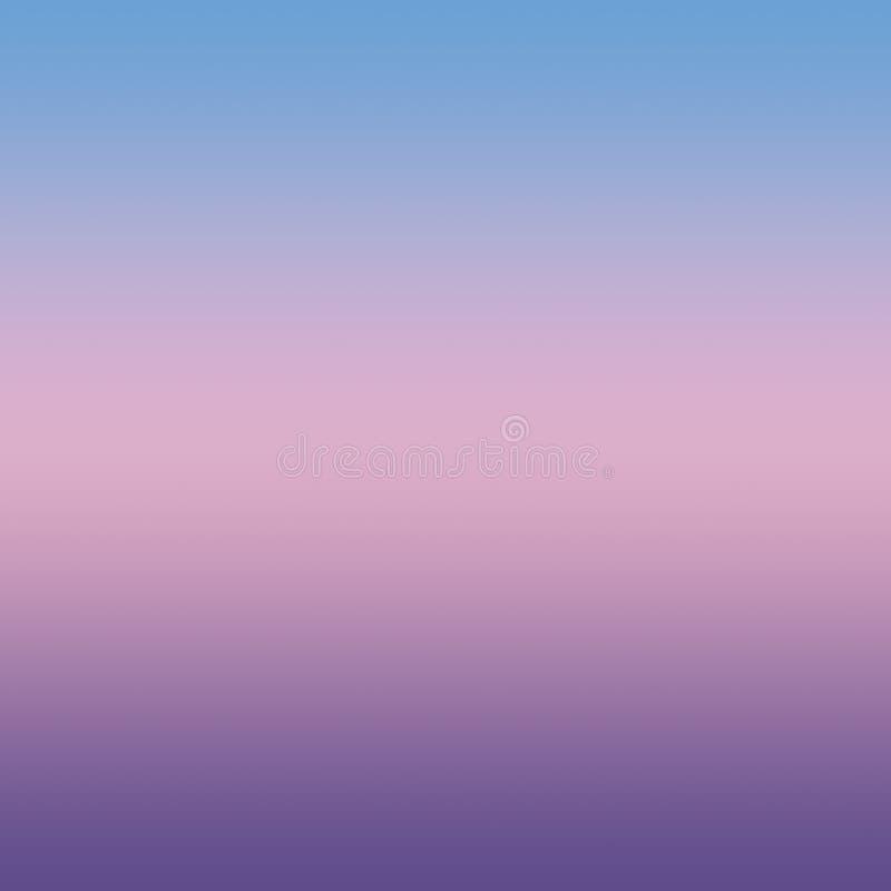 Abstrakta blåa rosa färger ultra Violet Blurred Gradient Minimal Background vektor illustrationer
