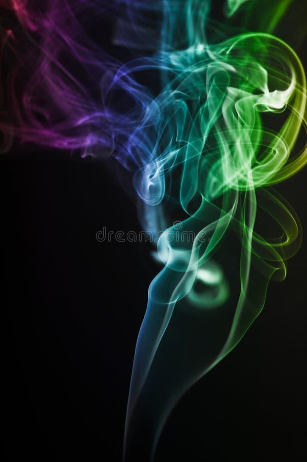 Abstrakta dym obraz stock