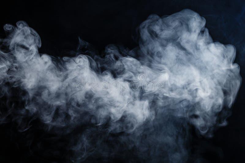 Abstrakta dymu ruchy obrazy stock