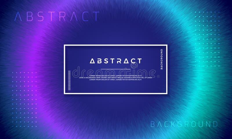 Abstrakta, dynamiska moderna bakgrunder för dina designbeståndsdelar och andra, med purpurfärgat och ljust - grön lutning stock illustrationer
