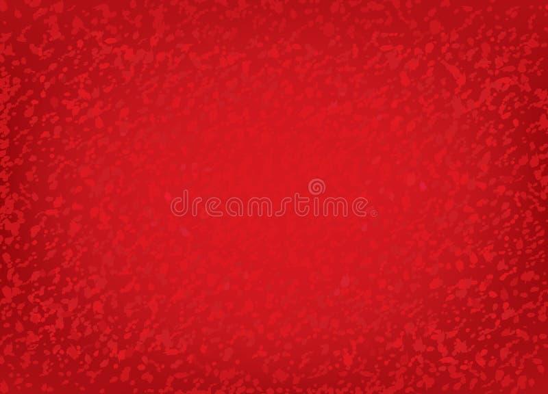 Abstrakta ekran. Czerwony tło. ilustracja wektor