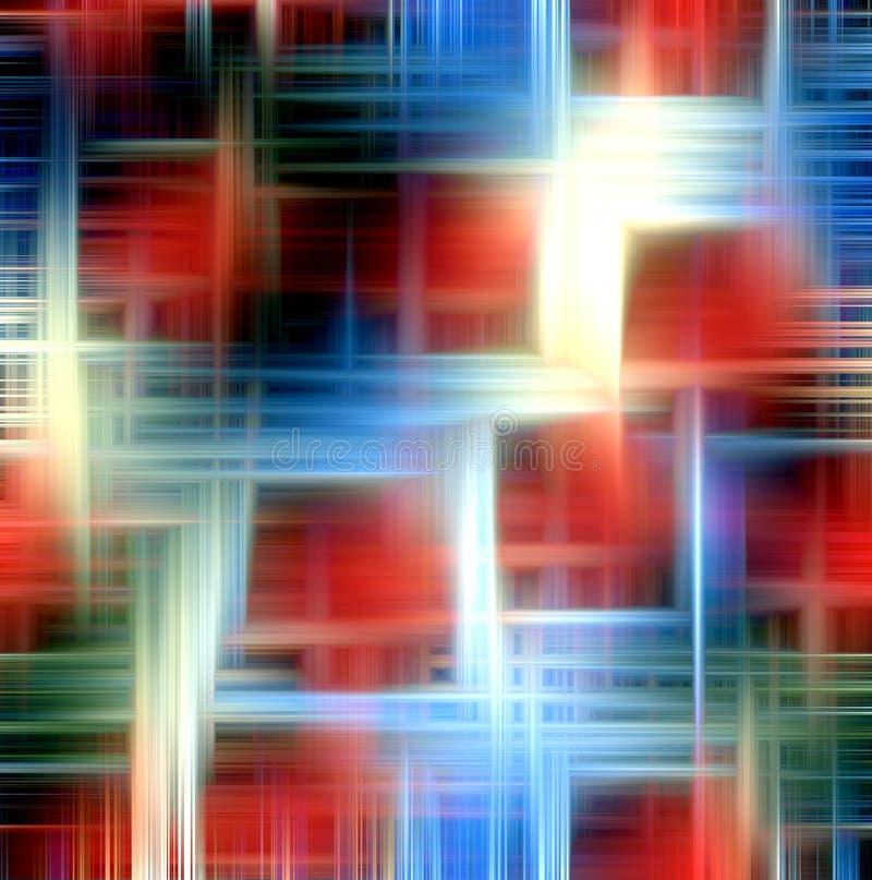 Abstrakta geometriska former, bakgrund royaltyfri illustrationer