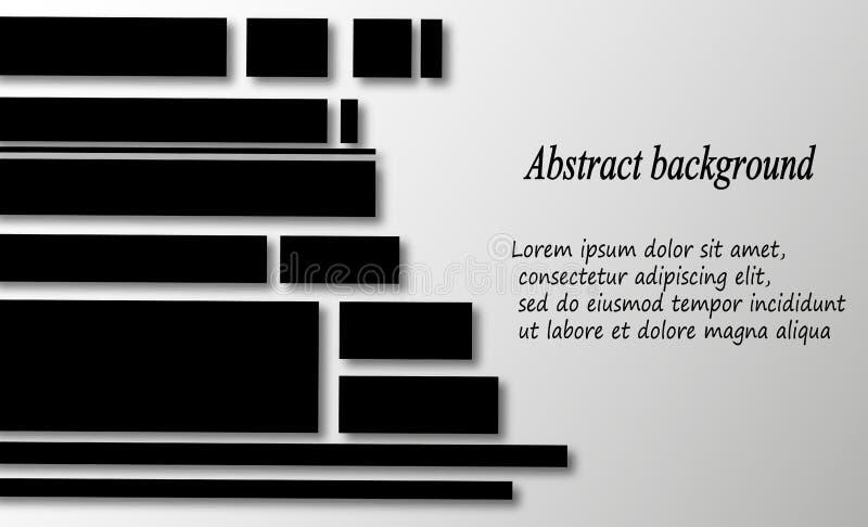Abstrakta geometriska lägenhetdiagram för din affär royaltyfri illustrationer
