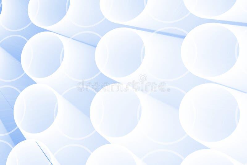 Abstrakta glödande cirklar royaltyfri illustrationer