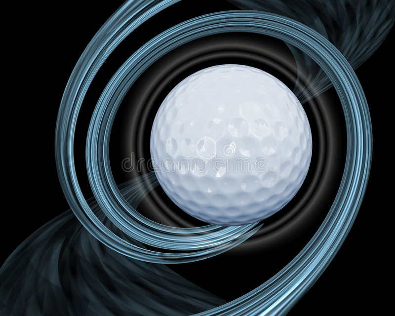abstrakta golf ilustracji