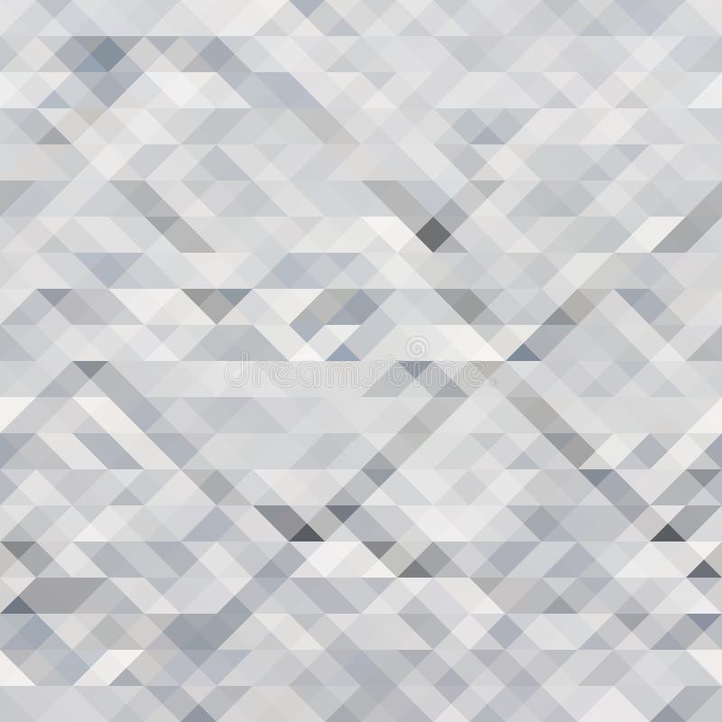 Abstrakta grå färger för triangelbakgrundsvit royaltyfri illustrationer