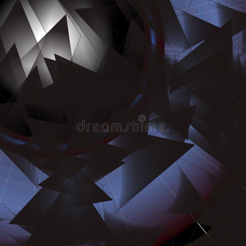 Abstrakta gwiazdowy złudzenie zdjęcie royalty free