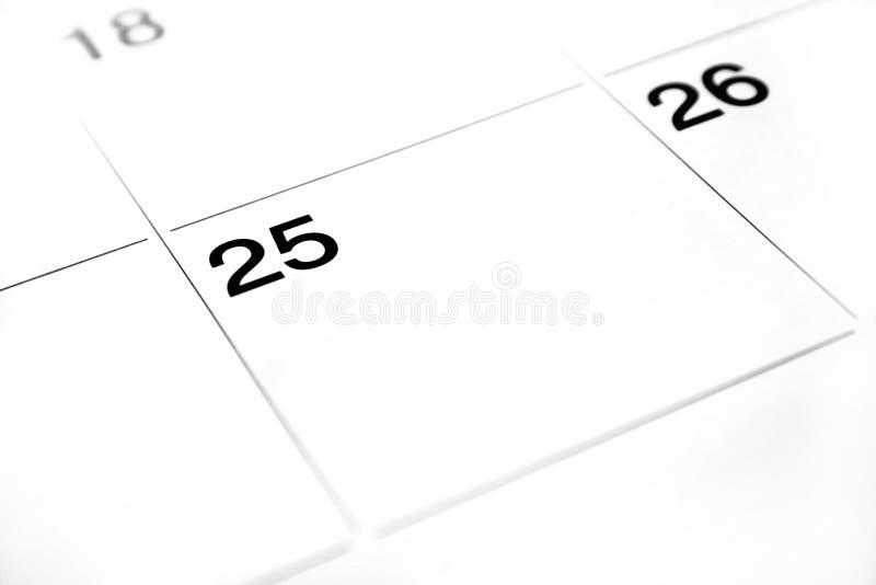 abstrakta kalendarz obrazy royalty free