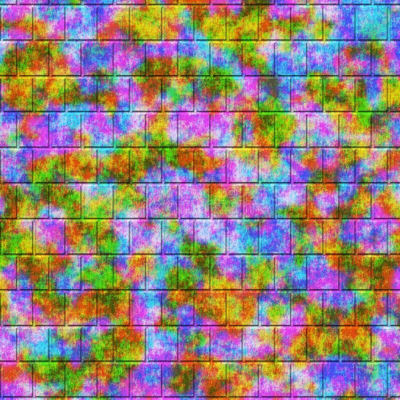 Abstrakta kwadrata kształty, tło zdjęcie royalty free