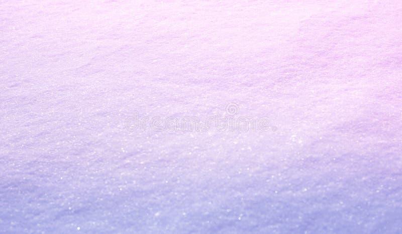 Abstrakta lekki gradientowy tło Szerokiej kąt natury zimy śnieżny tło, selekcyjna ostrość Miękki szablon dla bożych narodzeń, Now fotografia royalty free