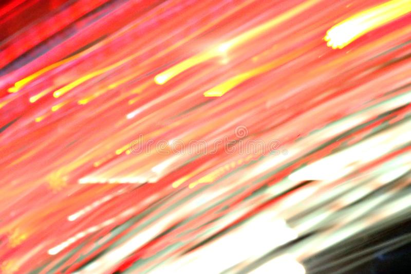 Abstrakta lekki tło w drodze zdjęcie royalty free