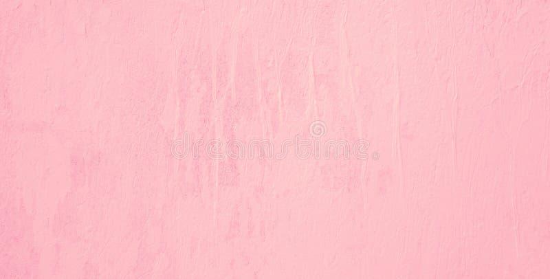 Abstrakta målad stuckaturbakgrund för Grunge dekorativa rosa färger royaltyfria bilder