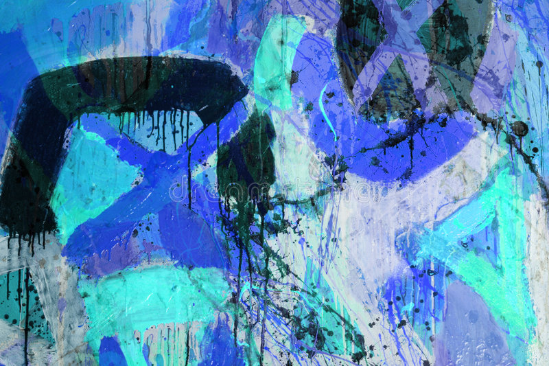 abstrakta mieszani obrazu technics obrazy royalty free