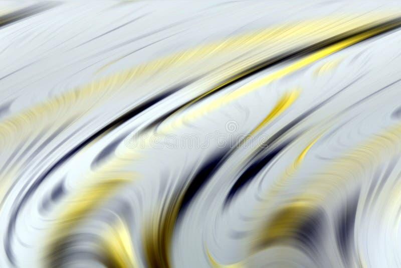 Abstrakta mjuka gråa guld- färger, skuggor och linjer bakgrund linjer rörelse stock illustrationer