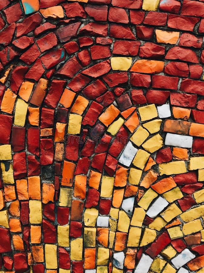Abstrakta mosaiska texturer royaltyfri fotografi