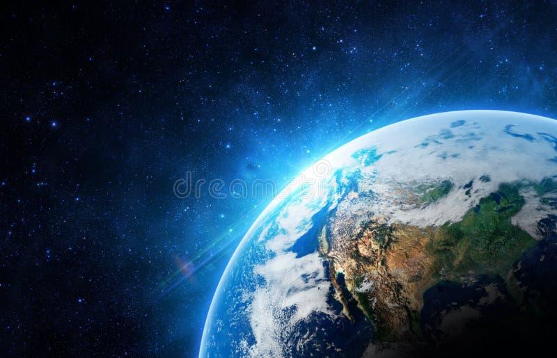 abstrakta obrazu świata gładka powierzchnia planety zmielonej zdjęcie royalty free