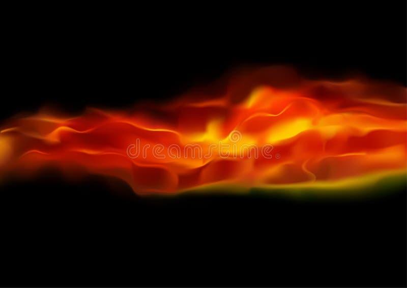 Abstrakta ogień ilustracji