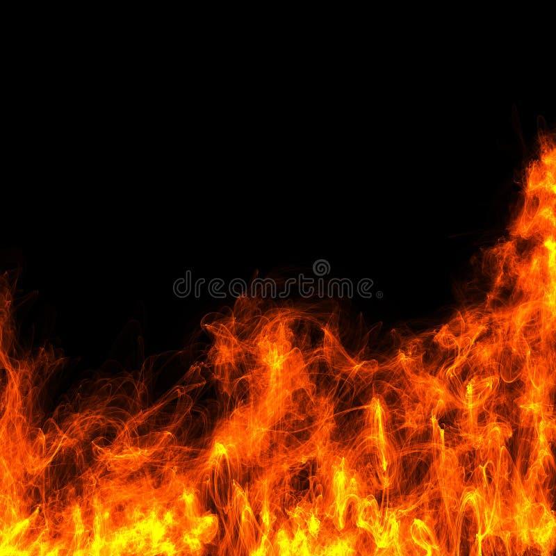 abstrakta ogień ilustracja wektor