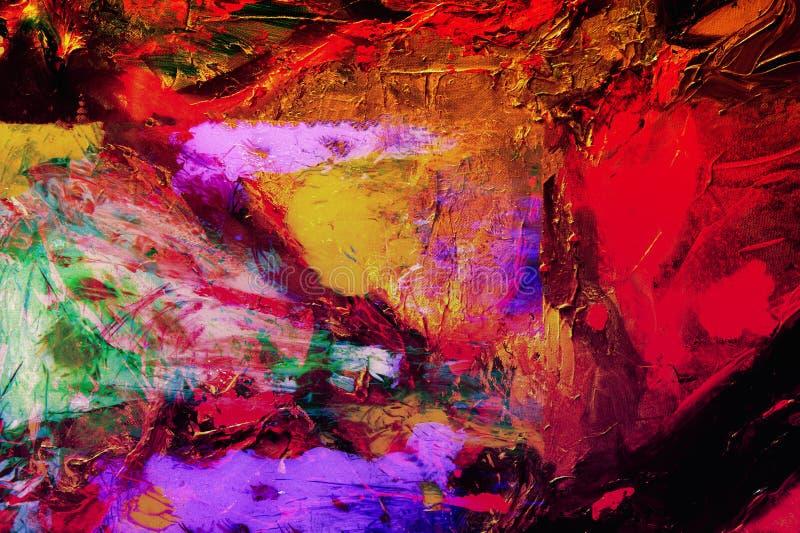 abstrakta oleju obraz stock