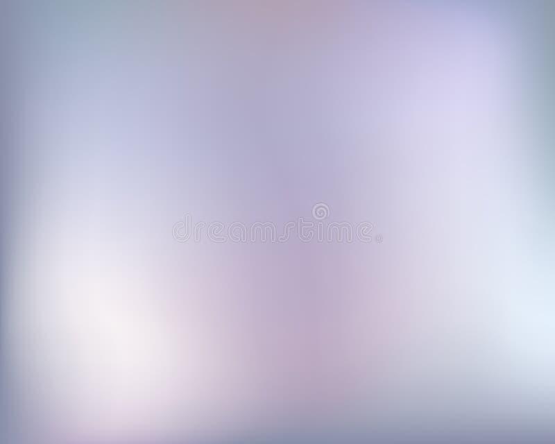 Abstrakta perełkowy jaskrawy blured gradientowy tło tła kreskówka odizolowywający llustration drzewa wektoru biel royalty ilustracja
