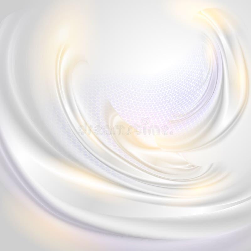 Abstrakta perełkowy tło ilustracja wektor