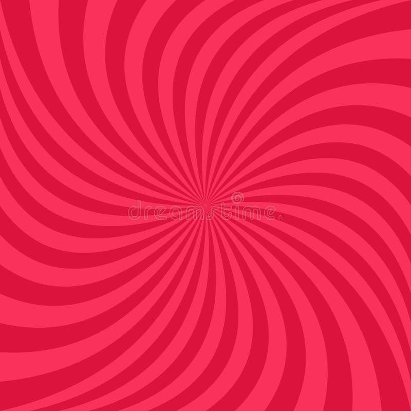 Abstrakta promienia ślimakowaty tło - wektorowy graficzny projekt od wirować promienie ilustracji