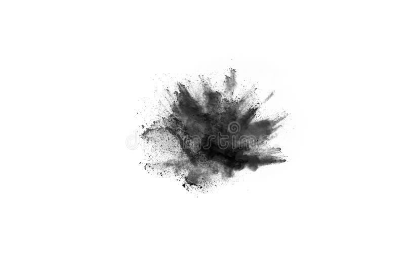 Abstrakta proszek splatted na białym tle obrazy royalty free