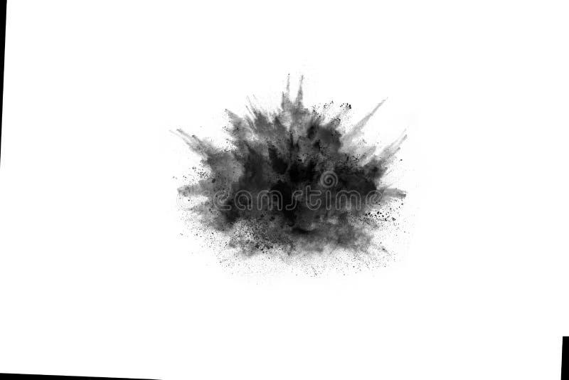 Abstrakta proszek splatted na białym tle zdjęcie stock