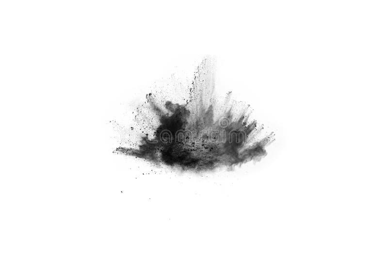 Abstrakta proszek splatted na białym tle obraz stock