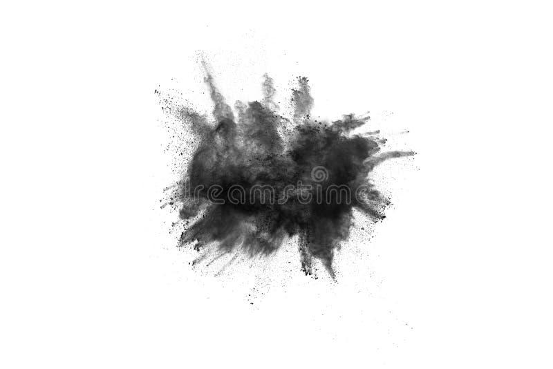 Abstrakta proszek splatted na białym tle zdjęcie royalty free
