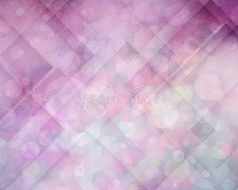 Abstrakta różowy, purpurowy tło z i fotografia stock