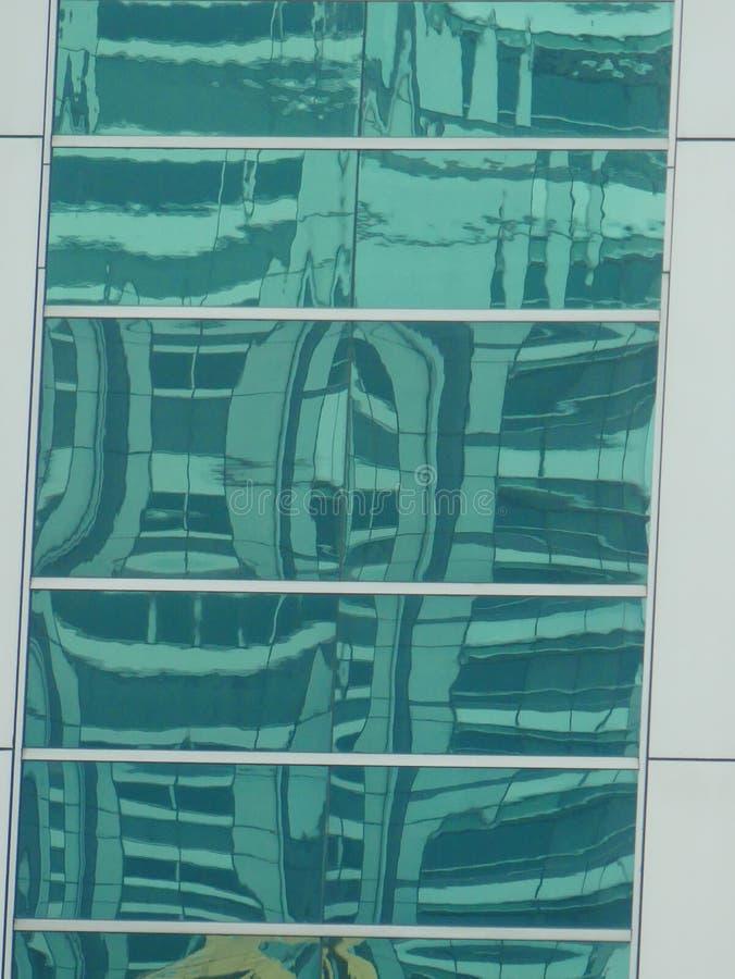Abstrakta reflexioner av byggnader royaltyfria foton