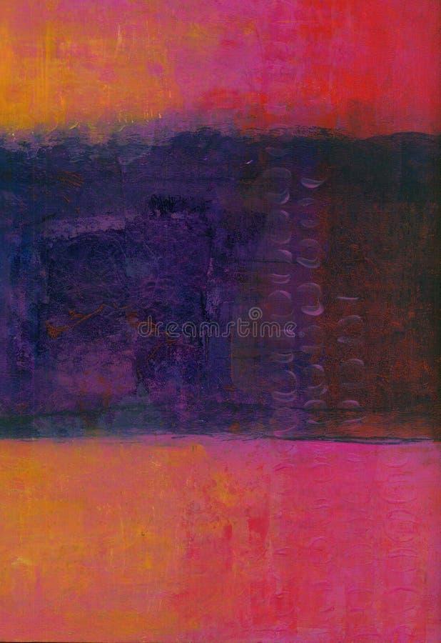 Abstrakta rosa lilor arkivbilder
