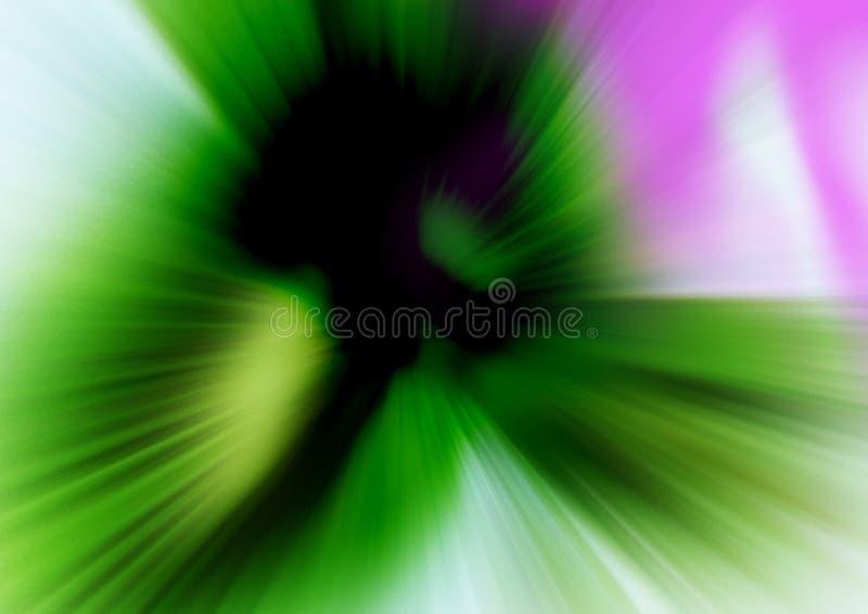 Abstrakta ruchu zamazany gradientowy tło royalty ilustracja