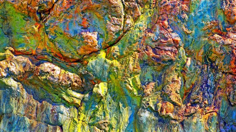 Abstrakta stentexturer arkivfoton