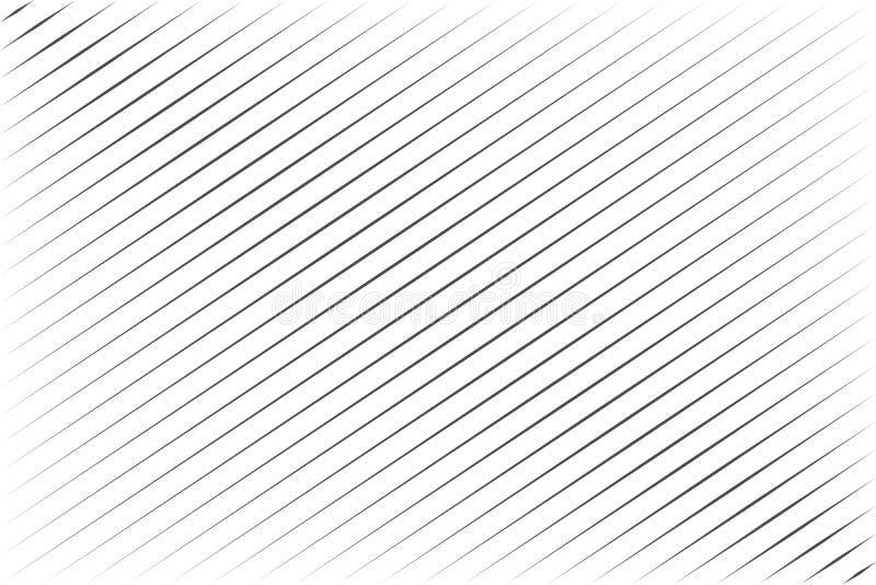 Abstrakta svarta blandningslinjer med diagonal rand på vektorbilden för vit bakgrund royaltyfri illustrationer
