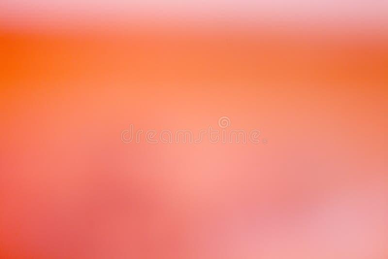 Abstrakta tła pomarańcze Rozproszeni Rozmyci Formless odcienie zdjęcie stock