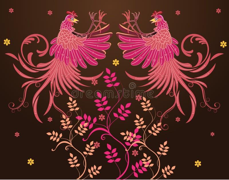 Abstrakta textildesigner för vektor royaltyfri illustrationer