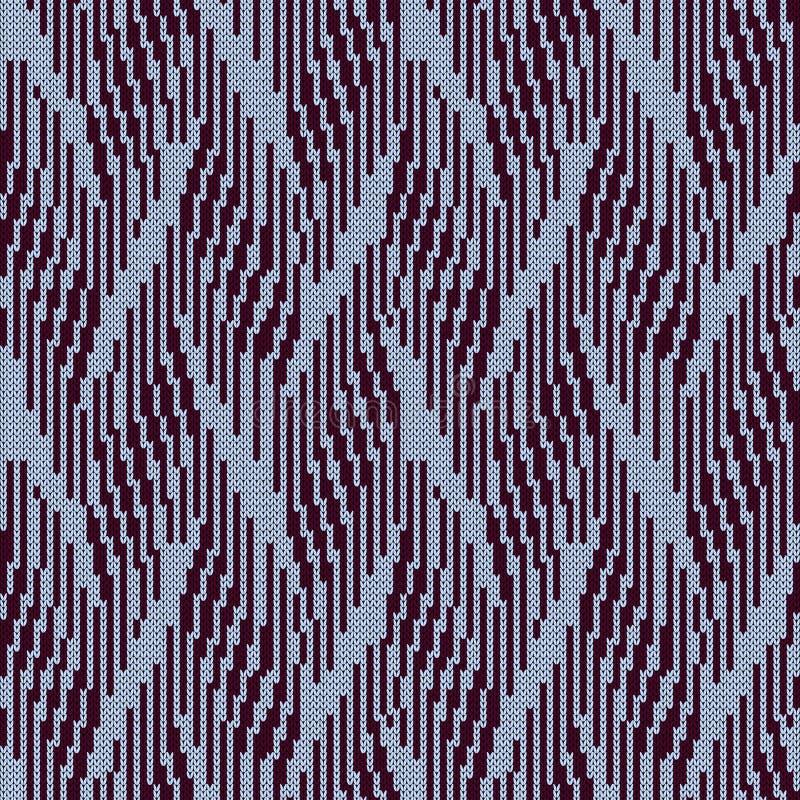 Abstrakta trykotowy bezszwowy wzór ilustracji