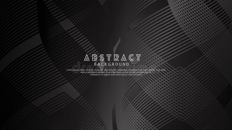 Abstrakta våglinjer bakgrund för beståndsdeldesign och andra användare royaltyfri bild