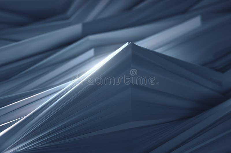 Abstrakta vågor för bakgrundspapper