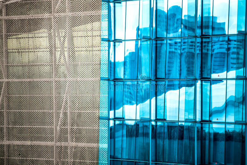 Abstrakta wierza - Singapur fotografia royalty free