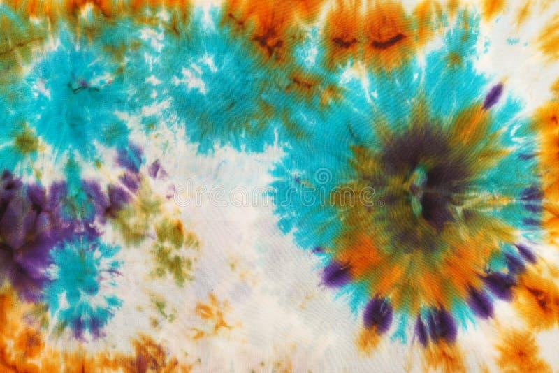 Abstrakta wzór na handmade jedwabniczym batiku ilustracja wektor