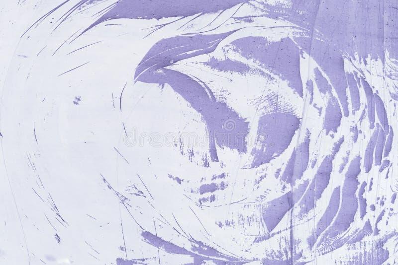 Abstrakta wzór robić pył na purpurowej ścianie, Pusty tło, tekstura zdjęcie royalty free