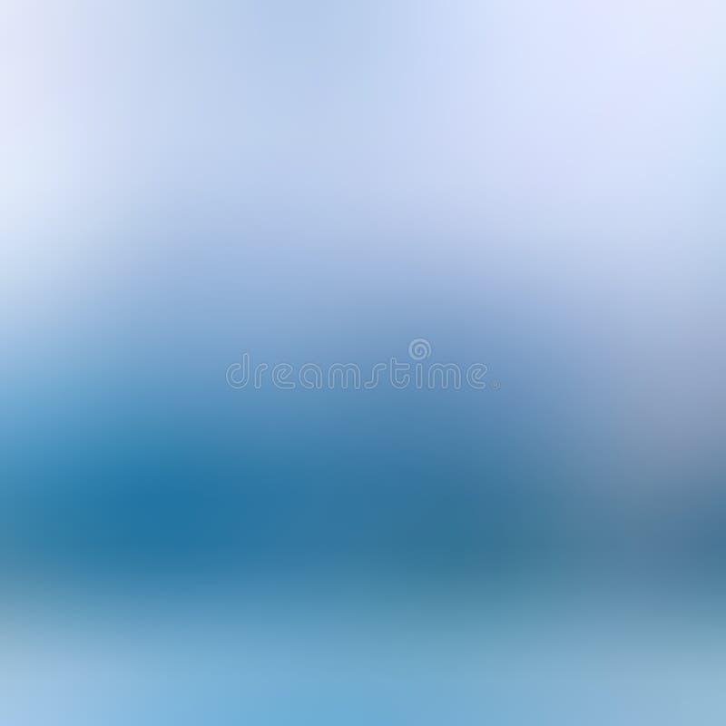 Abstrakta zamazany błękitny tło dla twój projekta zdjęcie stock