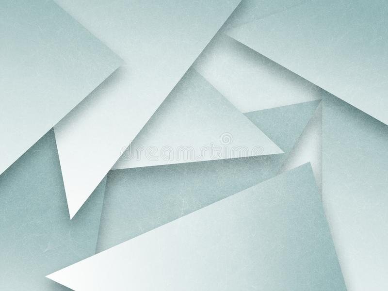 Abstrakta zielony tło z płatowatymi kształtami i przejrzysty materiał textured projekt zdjęcia stock