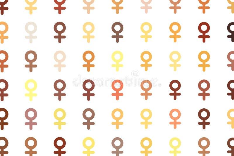 Abstrakta znak męski lub żeński generatywny sztuki tło Dekoracja, tekstura, tapeta & kanwa, ilustracji