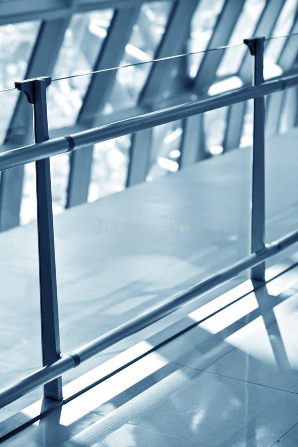 Abstrakte Abbildung des interrior Flughafens lizenzfreie stockfotografie